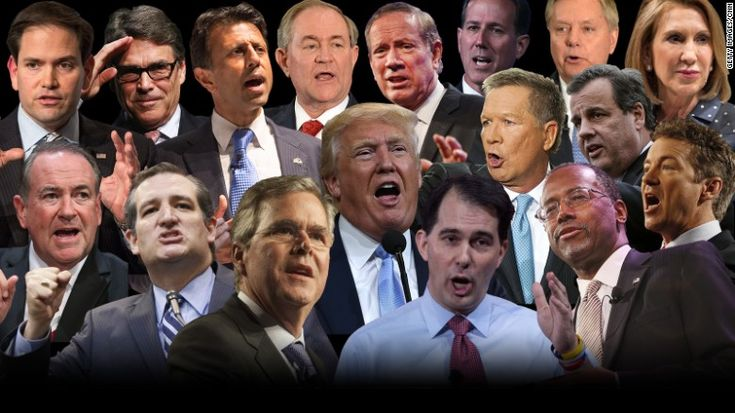GOP 2016 candidates composite