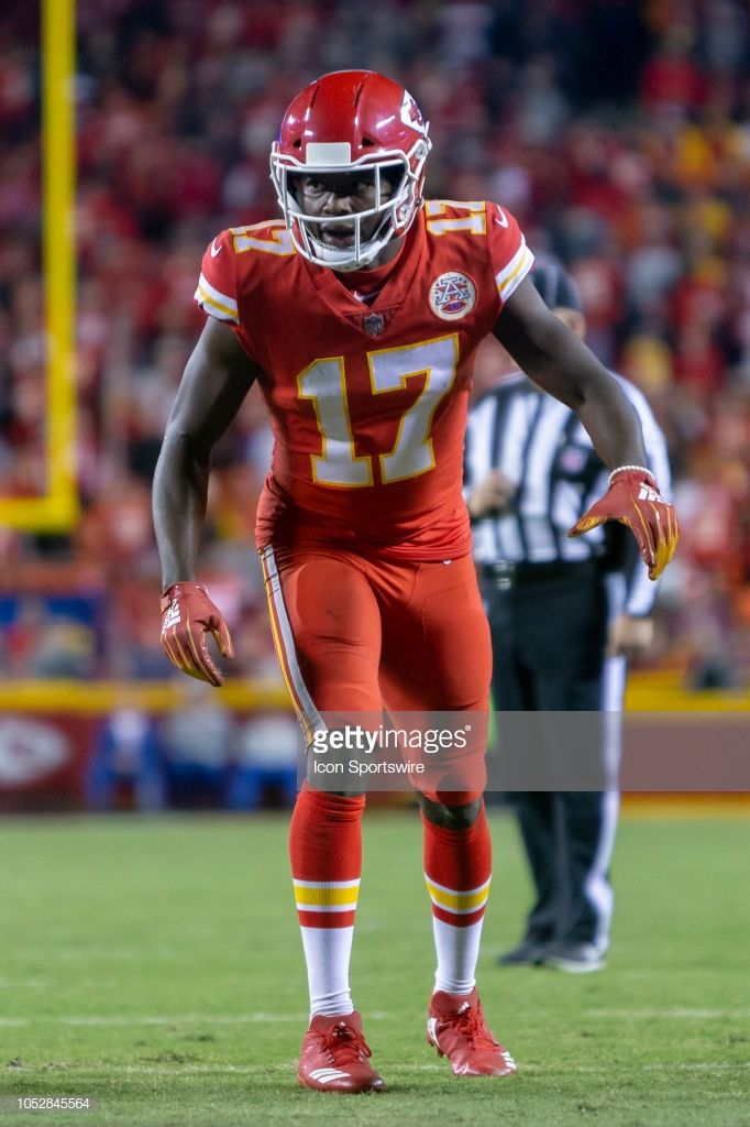 b34fd9ca8 Kansas City Chiefs wide receiver Chris Conley during the NFL football...