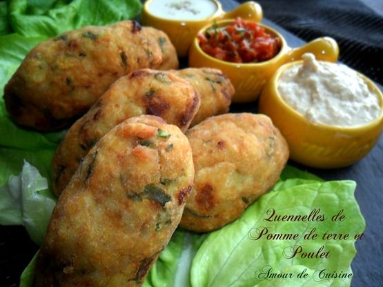 Quenelles de poulet et pommes de terre - Amour de cuisine
