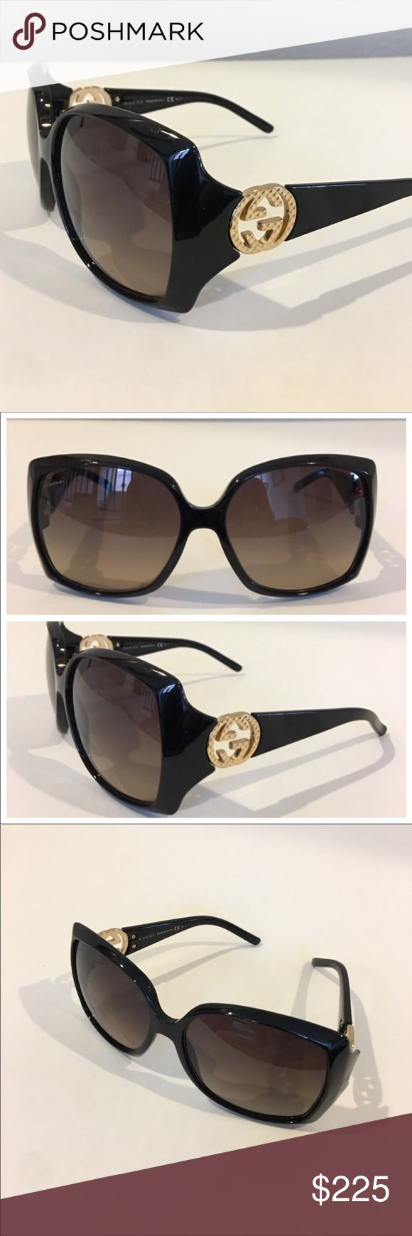 Authentic GUCCI brown sunglasses Rare and sold out. Authentic brown GUCCI  sunglasses.  Model GG3503/S, made in Italy. In gently worn preowned condition with light scratches on lens and frame. See listing for authenticity markings and measurements. No case. Please ask questions prior to purchase. 🚫trades, reasonable offers only. Gucci Accessories Sunglasses