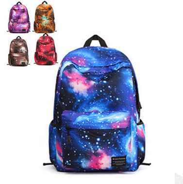 Students galaxy backpack