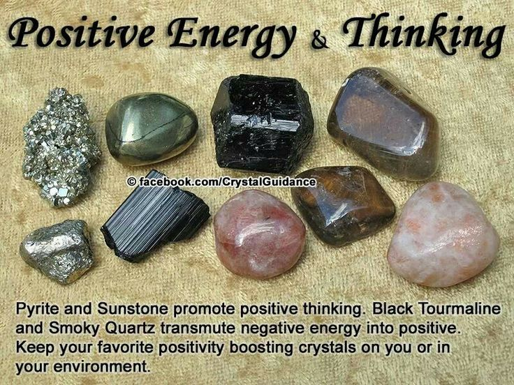 Crystals for Positive Energy  Thinking