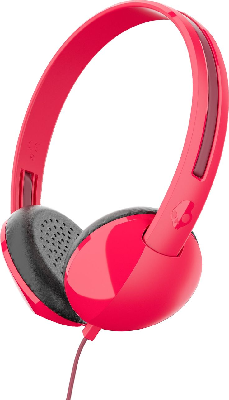 Skullcandy Stim On-Ear Headphones con Mic (Red)