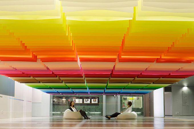"""""""100 Colours"""" exhibition"""