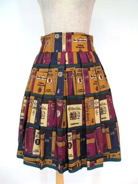 British Library skirt from Jane Marple.
