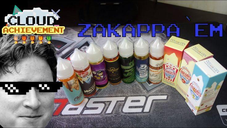 zaKAPPA`em: обзор малазийской жидкости от Cloudy Heaven