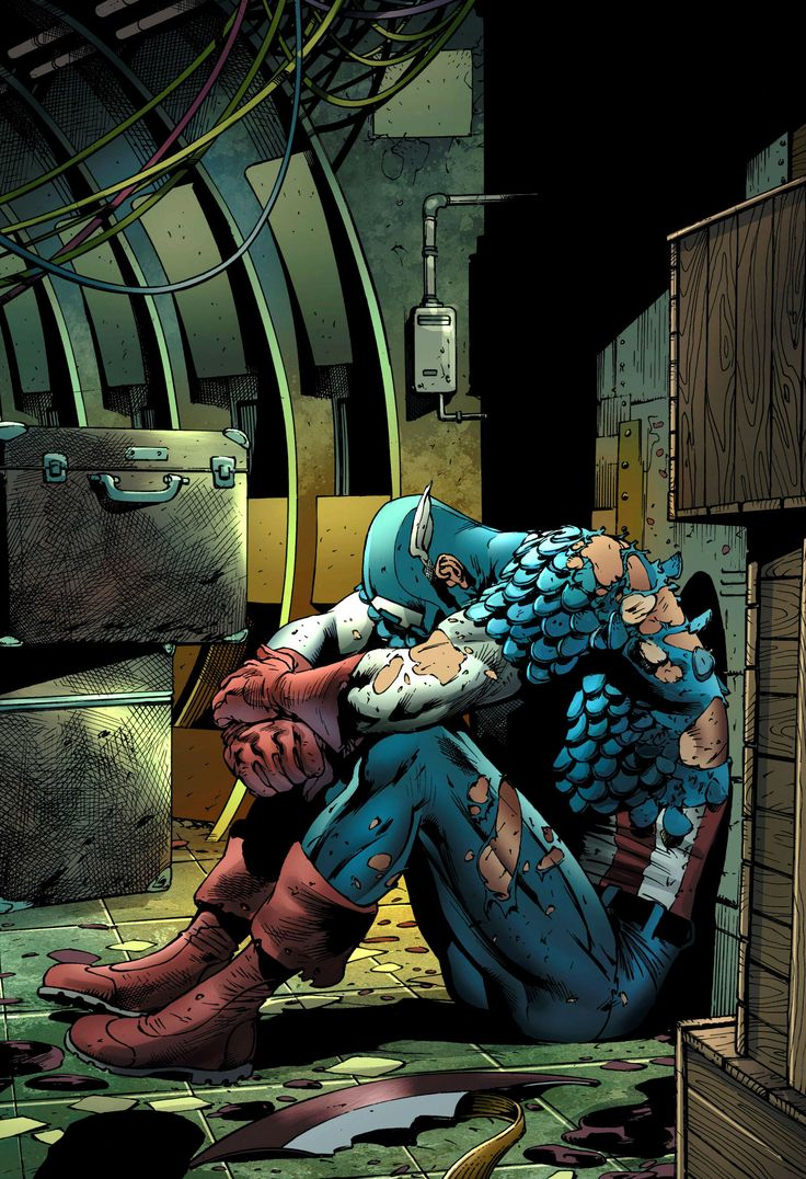 Captain America by Bryan Hitch