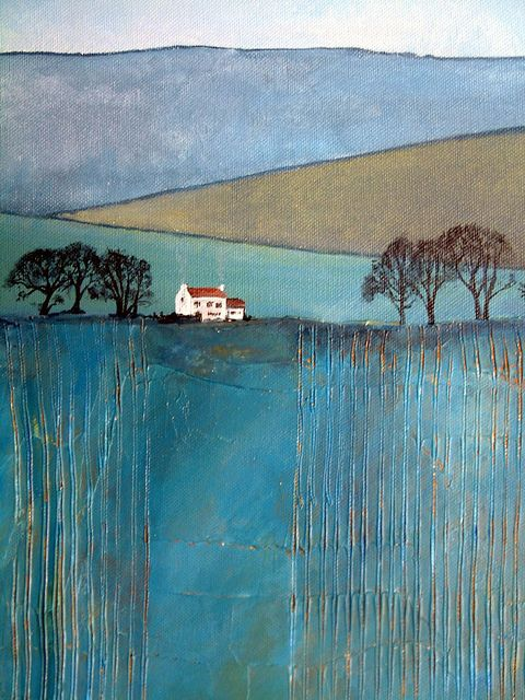 farmhouse-in-blue by autumnsong2010, via Flickr