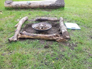 Fagley Primary Forest School: Session 2 - Preparing the Fire Pit