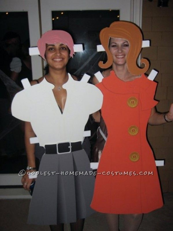 Awesome Inter-Changeable Paper Doll Costume ...This website is the Pinterest of costumes
