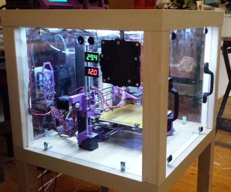 3d printer enclosure from upcycled furniture lack table for Furniture 3d printing