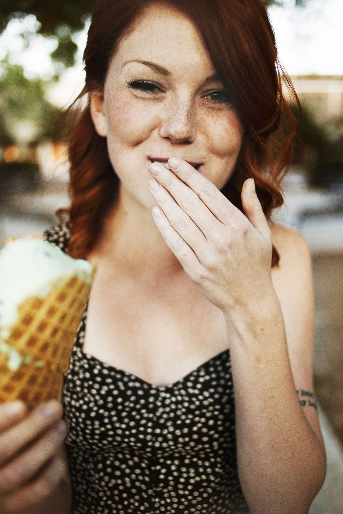 Eating ice cream would be fun for seniors, couples or just for a fun shoot by yourself ;D