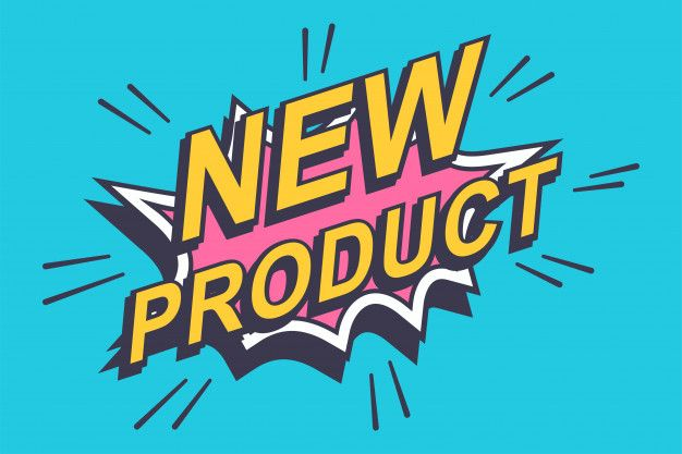 New Product Sticker Label Comics Bubble Icon Isolated On A Blue Background Comic Bubble Blue Backgrounds Comics