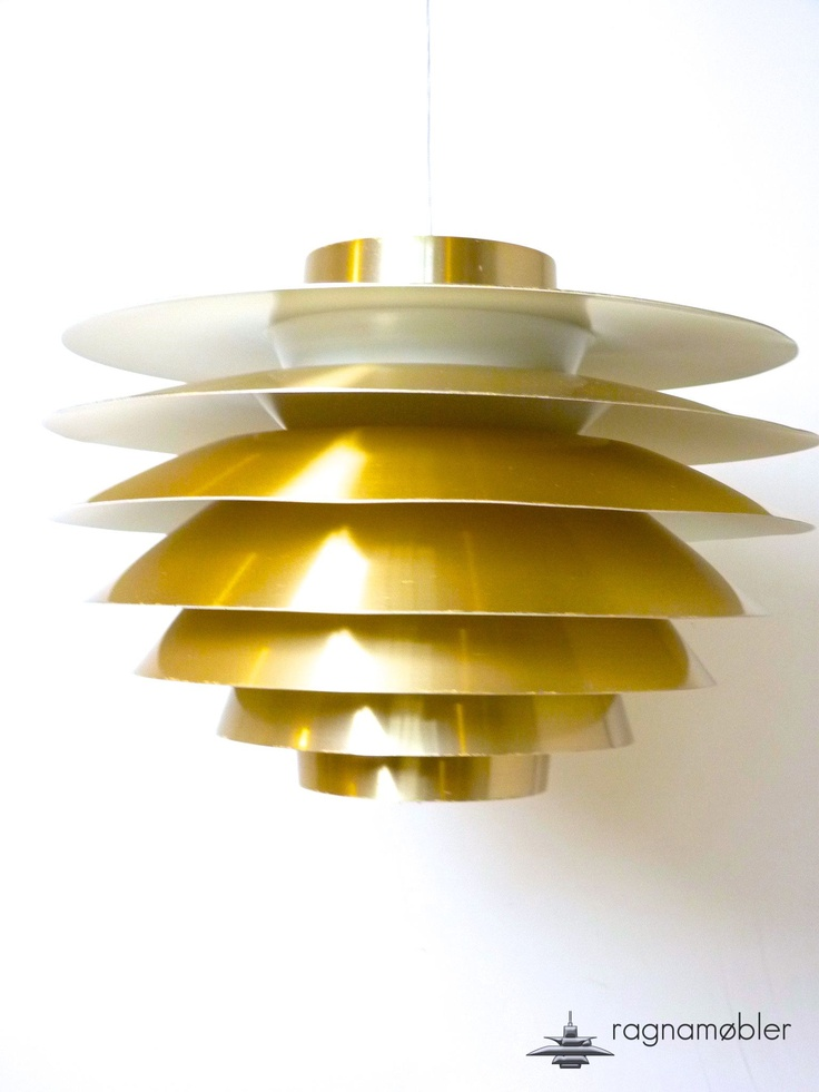 Verona by Svend Midleboe   for Nordisk Solar  nice penant lamp that can easily stand  the pace to louis poulsen shade lamps