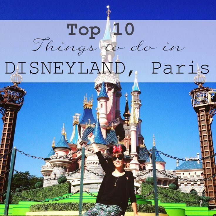 Wat je zeker moet doen in Disneyland Parijs / Paris Must do, must see, top 10