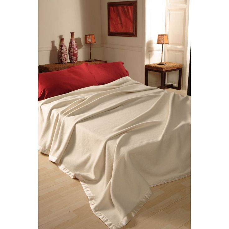 Blanket Désirèe cashmere and silk, limited production