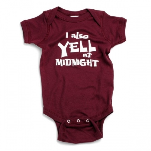 Aggie baby. I have an Aggie grand baby due later this year.  He definitely needs this.