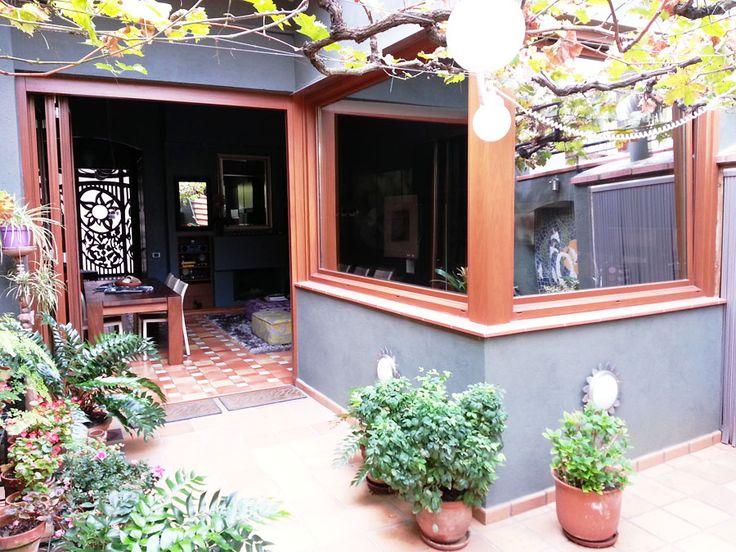 Ventana Exterior para patio. Testimonial Living Iscletec www.iscletec.com