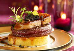 Le tournedos de biche au foie gras Gibier +foie gras: une alliance étonnante et détonante. Lire la recette du tournedos de biche au foie gras