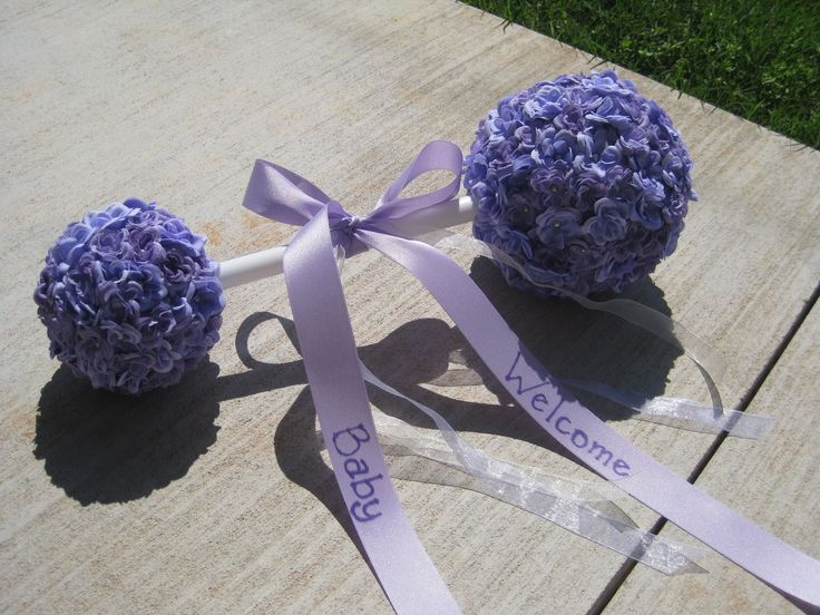 Lavender Baby Shower Centerpiece | ... : Adventures In Crafting: DIY Easy  And