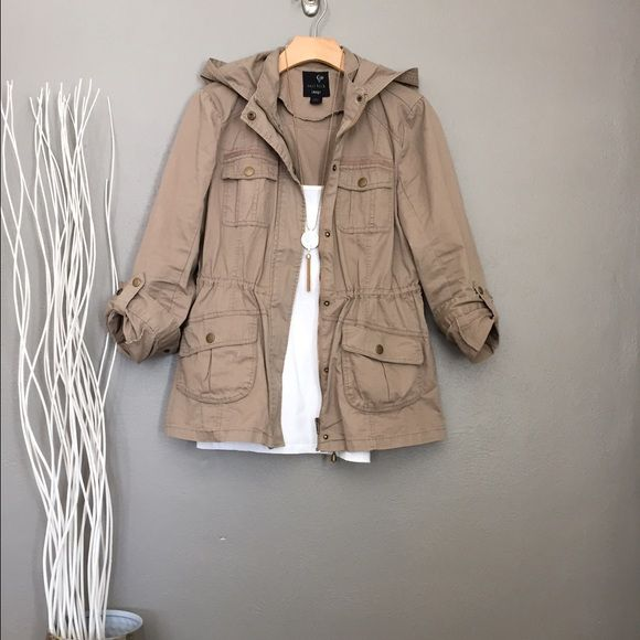 Tan utility jacket | Utility jacket Coats and Tans