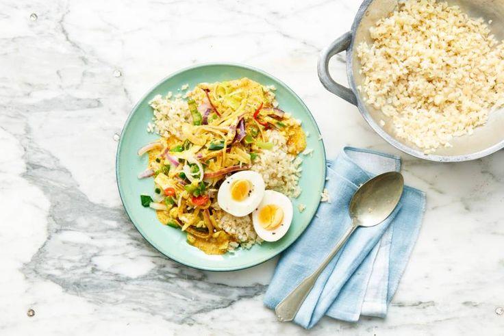 Snel en glutenvrij gerecht voor 2 personen, mét extra veel groente voor een dagje slank - Recept - Allerhande