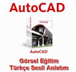 Autocad 2013 Görsel Eğitim Türkçe