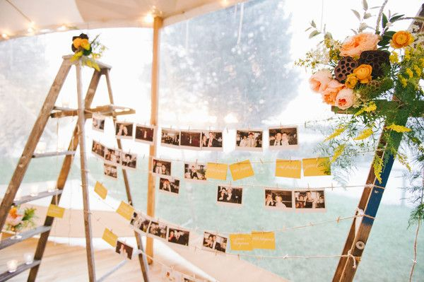Polaroids of Guests Allow You to Never Miss a Moment of Your Wedding I Sassafras Vintage Rentals I #weddingdecor #shabbychic I See more @WeddingWire