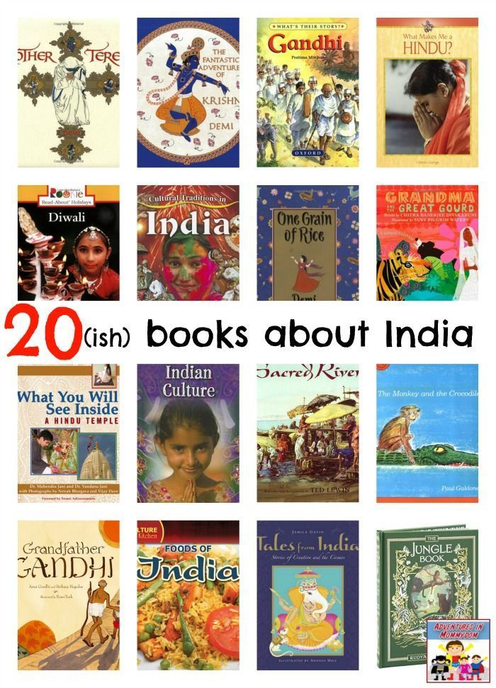 books about India, there's some amazing children's literature about India