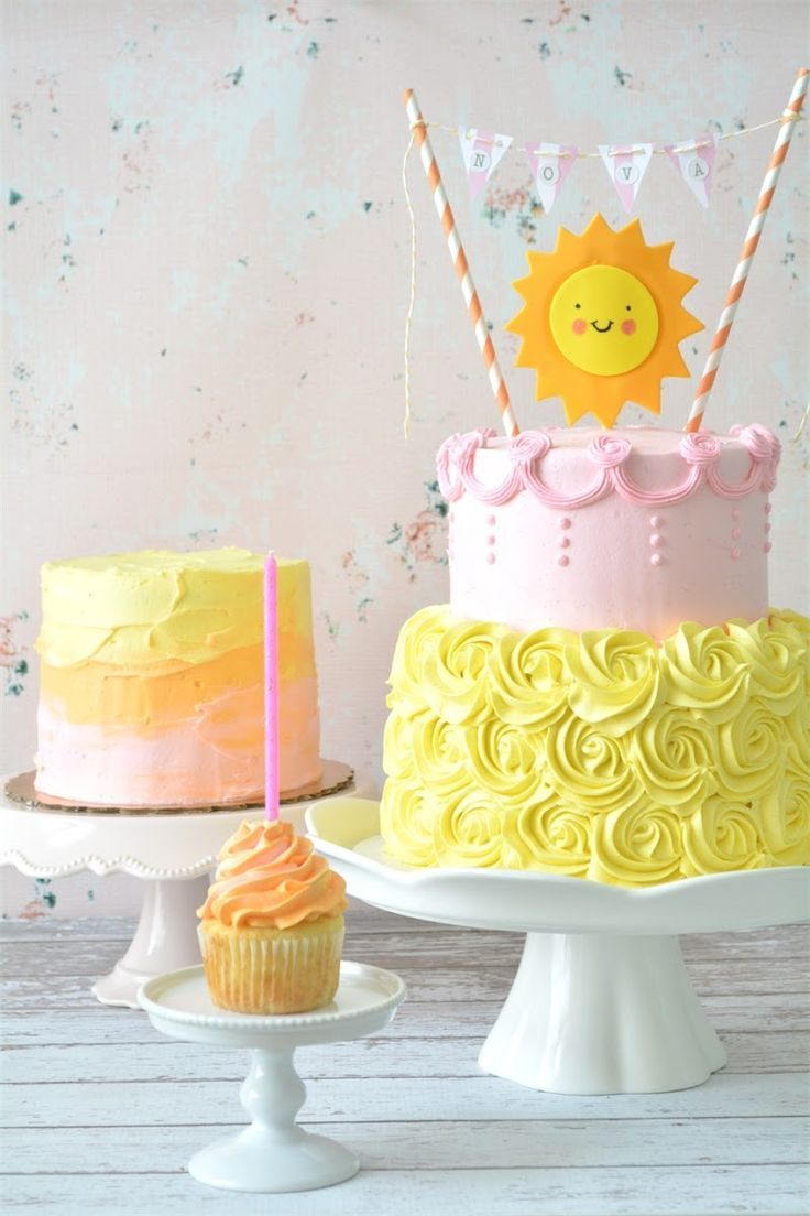 Sunshine Birthday Cakes