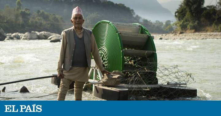Los agricultores del país asiático, escaso de agua para regar, se benefician de este invento hidráulico y ecológico
