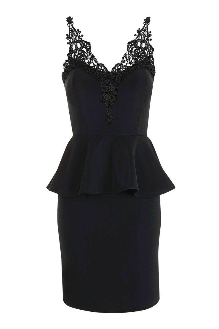 Wal g wrap detail dress with metallic stripe in blue navy lyst - Lace Bust Peplum Dress By Wal G