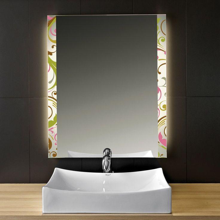 7 best Design-Effekt-Spiegel images on Pinterest Homemade ice - lampen für badezimmerspiegel