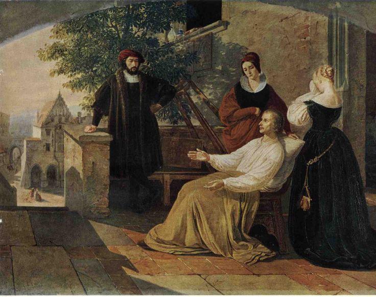 La muerte de meydenu by Josef Mánes