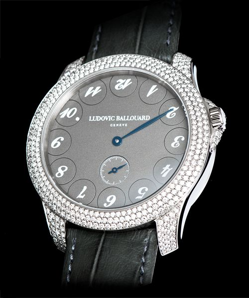 Ludovic Ballouard Upside Down 18K WG Hand Wound Available at Cellini Jewelers
