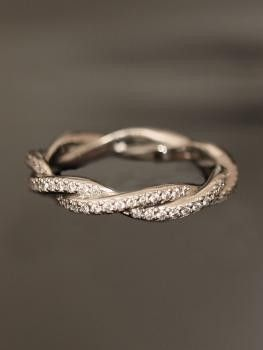 wedding band to be fitted with a simple engagement ring. I also like the color