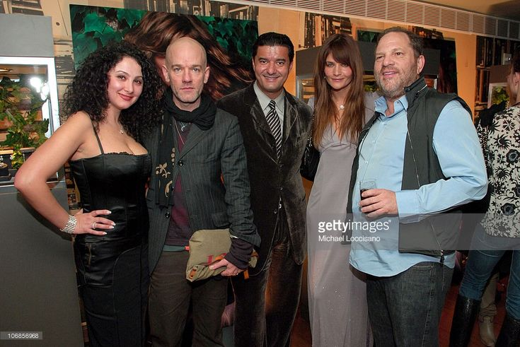Angela Arabo, Michael Stipe, Jacob Arabo, Helena Christensen and Harvey Weinstein