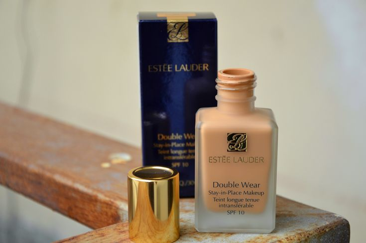 ESTEE LAUDER DOUBLE WEAR STAY-IN-PLACE MAKEUP : 4N 2 SPICED SAND