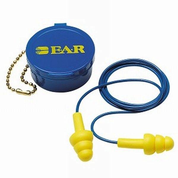 UltraFit Corded Earplugs 340-4002.  UltraFit™ Corded Earplugs 340-4002, in Carrying Case.  - Price per Case (1 case = 200 Pairs).   http://tigaem.com/earplugs-earmuffs/1514-ultrafit-corded-earplugs-340-4002.html  #earplug #pelindungtelinga #3M