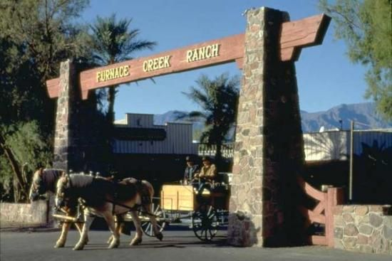 Death Valley National Park  -- California - Furnace Creek Ranch (stayed there)!
