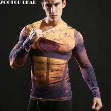 Hot 2017 Superhero Superman/Batman/Spiderman Men Long Sleeve T Shirt Compression Tights Tops Fitness T-shirt     Tag a friend who would love this!     FREE Shipping Worldwide     US $9.29    #yoga