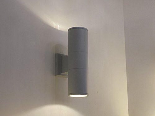 applique lampada da parete per esterno moderno illuminazione giardino