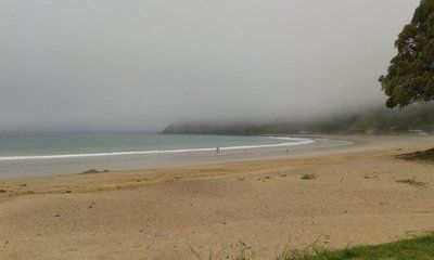 Sudden heavy & fast moving low clouds moving in over #Russell quite spectacular #metservice pic.twitter.com/dRJP6zclFQ