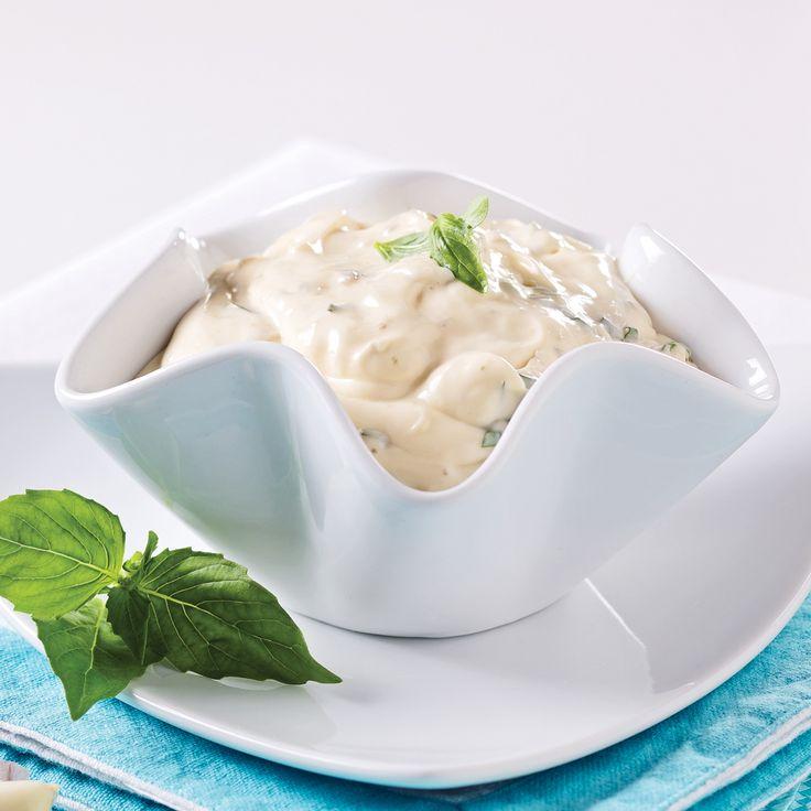Sauce à fondue aïoli aux câpres et basilic - Recettes - Cuisine et nutrition - Pratico Pratique