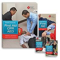 Modular format creates course flexibility • Ideal for learners who prefer group interaction and feedback from an instructor while learning skills • Each student receives the highest quality course materials to supplement their learning • Student CD-ROM (included with student workbook) includes additional information on CPR, AED and first aid content that students can reference after the course http://emstraininginstitute.com/detail.php?product_id=53&cid=1&suid=&rit=1 Price $16.95