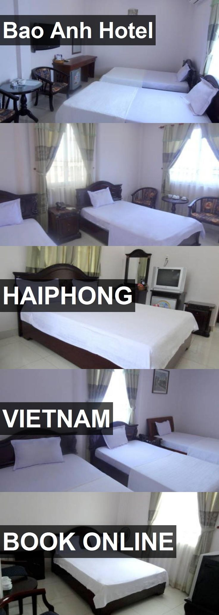Hotel Bao Anh Hotel in Haiphong, Vietnam. For more information, photos, reviews and best prices please follow the link. #Vietnam #Haiphong #BaoAnhHotel #hotel #travel #vacation