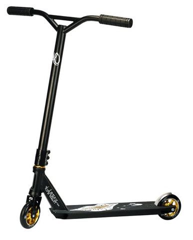 Ao Lambda 2 1 Complete Scooter Black Gold Scooters Bmx