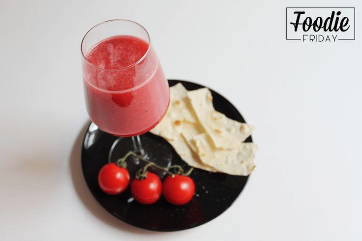 FoodieFriday: Gazpacho d'anguria Ed eccoci con il #FoodieFriday: fresco, gustoso e leggero... Gazpacho d'anguria! #foodie #foodporn #food #ilovecooking  http://bit.ly/iDMFFga