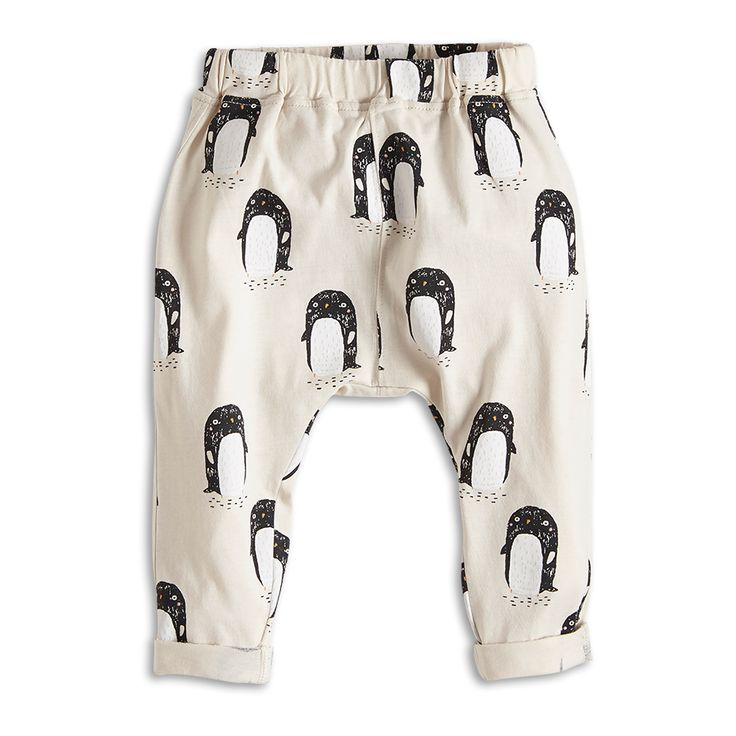 Patterned Trousers Beige Bottoms Kids Lindex