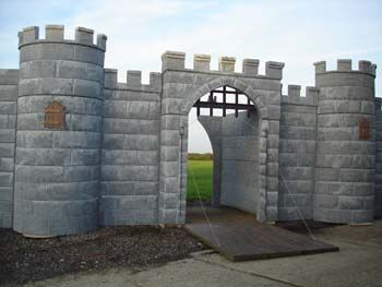 Polystyrene Castle Tower Stage Set Google Search Build